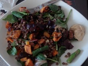 dsc01901 - Salad with Hummus