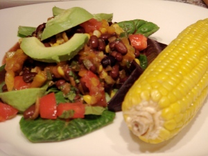 dsc02633 - Roasted Corn & Black Bean Salad