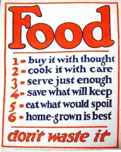 food buy it with thought war poster 1 - American Food Posters on Display