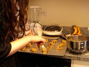dsc03317 - Vegan Chocolate Chunk Oatmeal Cookies
