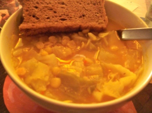 dsc035832 - Yellow Split Pea-and-Cabbage Soup