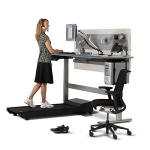 standing treadmill - Sedentary Workplace Conditions Looked at as Cause of Obesity