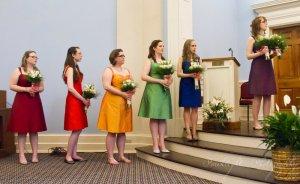 anders and carries wedding bridesmaids - Wedding Season