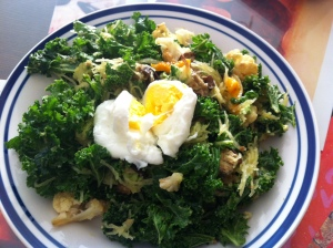 Add a little love to your kale stir-fry
