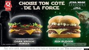"dark vador burger - Would you try the ""Dark Vader"" burger?"