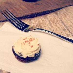 Mini Guinness cupcakes—amazingness