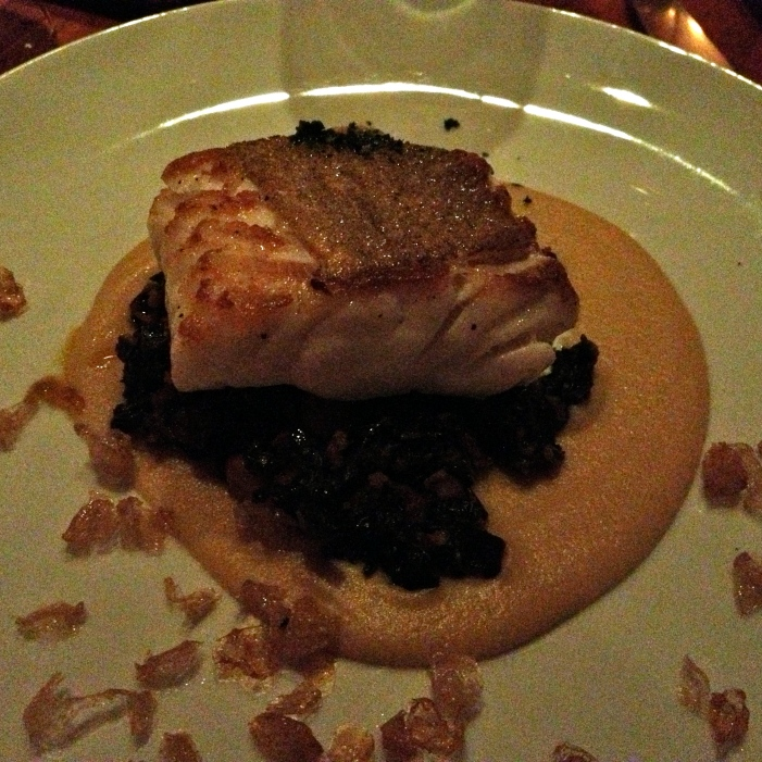 perfect fish at Hearth