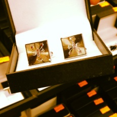 Because what man doesn't want Scorpion cuff links?