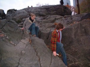 Me visiting Central Park with friends, circa 2006