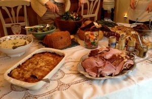 A sampling of the Easter dinner offerings
