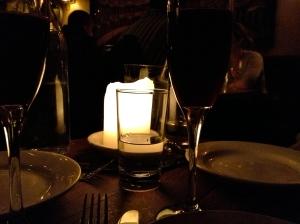 Dark & candle-lit: totally my jam