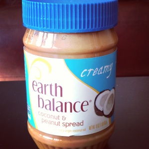 Earth Balance Coconut PB spread