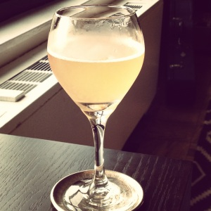 From now on I will only drink kombucha out of wine glasses. Cheers!