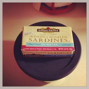 boneless sardines