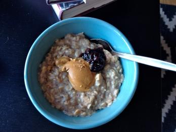 PB&J oats