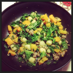 img 3699 - Gnocchi with Roasted Butternut Squash and Kale
