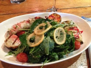 Seafood Salad Cafe Nervosa