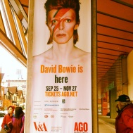 Bowie at AGO
