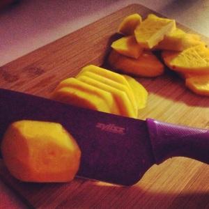 img 3987 - Product Review: Zyliss Santoku Knife