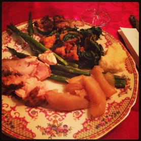 Xmas Day dinner 2013