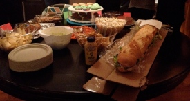 super bowl spread