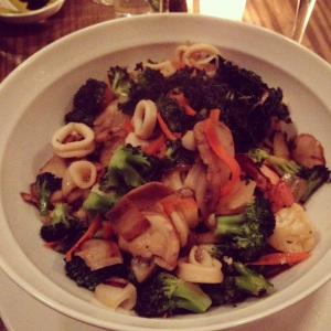 spring natural kitchen stir fry